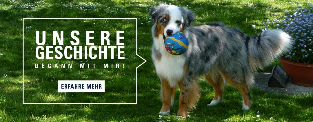 Unsere Geschichte - erfahre mehr - Hundekot Kotbeutel entsorgen