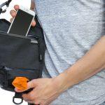 Walkybag Utensilienfach Rückseite - Gassitasche für Hundehalter - Kotbeutel entsorgen