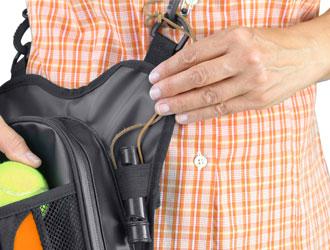 Walkybag elastische Schlaufe - Gassitasche für Hundehalter - Kotbeutel entsorgen