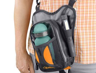 Walkybag Trinkflasche - Gassitasche für Hundehalter - Kotbeutel entsorgen