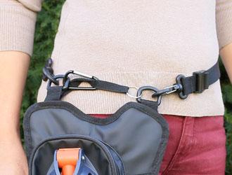 Walkybag enger stellen - Gassitasche für Hundehalter - Kotbeutel entsorgen