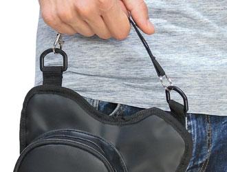 Walkybag Handgriff - Gassitasche für Hundehalter - Kotbeutel entsorgen