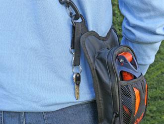 Walkybag Schlüssel - Gassitasche für Hundehalter - Kotbeutel entsorgen