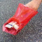 OSHiT Papp-Spatel - Pocket-Scoopy Zubehör - Sondereinsatz - Zum Dagegenhalten oder Anschieben - Schaufel - Hundekot Kotbeutel entsorgen