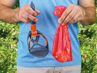 Pocket-Scoopy - Beutel abziehen - innovative, handliche und praktische Schaufel - Hundekot entsorgen leicht gemacht
