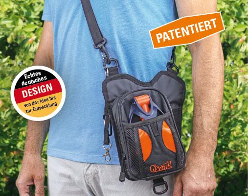 Walkybag patentiert - Gassitasche für Hundehalter - Kotbeutel entsorgen